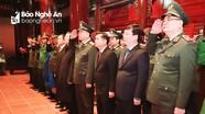 Bộ trưởng Bộ Công an dâng hương tưởng niệm Chủ tịch Hồ Chí Minh và cố Bộ trưởng Trần Quốc Hoàn