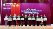 Thành ủy Vinh tổng kết công tác xây dựng Đảng năm 2020, triển khai nhiệm vụ năm 2021