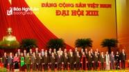 Bộ Chính trị phân công 4 Ủy viên Trung ương Đảng tham gia sinh hoạt tại đoàn Nghệ An dự Đại hội Đảng