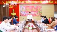 Thường trực Tỉnh ủy Nghệ An họp đánh giá kết quả tổ chức Tết Tân Sửu 2021