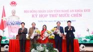 HĐND tỉnh Nghệ An bầu bổ sung chức danh Chánh Văn phòng