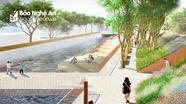 'Hình hài' 4 hợp phần dự án gần 200 triệu USD chống úng ngập ở TP Vinh