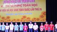 Nghệ An có 3 học sinh đoạt HCV tại kỳ thi Olympic Toán học toàn quốc