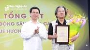 Trao thưởng Cuộc vận động sáng tác ca khúc về quê hương Nghệ An
