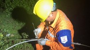 Sét đánh gây mất điện toàn huyện miền núi Nghệ An