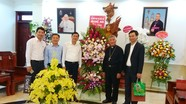 Giám đốc Sở Giáo dục và Đào tạo chúc mừng Tòa giám mục Giáo phận Vinh nhân dịp Giáng sinh
