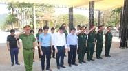 Nghệ An đón 57 hài cốt liệt sỹ hy sinh ở nước bạn Lào