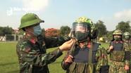Bộ CHQS tỉnh xuất quân bảo vệ bầu cử Đại biểu Quốc hội và Hội đồng nhân dân các cấp