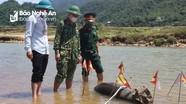 Di dời, hủy nổ thành công quả bom nặng 250kg ở huyện Quế Phong