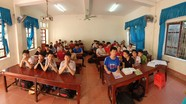 Lớp học trường huyện có 17 em đậu vào Trường chuyên Phan Bội Châu