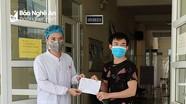 Bệnh nhân tái dương tính Covid -19 ở Nghĩa Đàn được ra viện