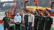 Phó Chủ tịch UBND tỉnh kiểm tra công tác chuẩn bị diễn tập huyện Nghi Lộc và thị xã Cửa Lò