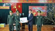 Phó chủ tịch UBND tỉnh Hoàng Nghĩa Hiếu thăm chúc Tết tại huyện Tương Dương