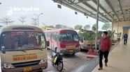 Xe khách cố định tuyến đường 7 ở Nghệ An tiếp tục bãi bến