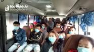 Nghệ An: Xe khách cố định tuyến đường 7 hoạt động trở lại