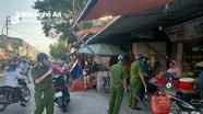 Người dân vẫn lơ là với phòng dịch khi đi chợ Vinh