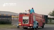 Nghệ An: Siết chặt công tác phòng, chống dịch Covid-19 tại khu công nghiệp