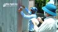 Phát huy giám sát cộng đồng đối với những trường hợp cách ly tại nhà ở TP.Vinh