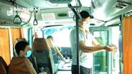 Hôm nay 9/7 nhiều tuyến xe buýt xuất phát từ TP.Vinh đi các huyện đã hoạt động trở lại