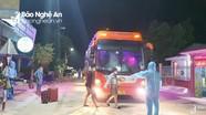 Nghệ An: Thu hồi phù hiệu 4 xe khách cố tình đưa người từ vùng dịch về