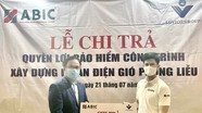 Bảo hiểm Agribank Nghệ An chi trả quyền lợi cho khách hàng bị thiệt hại khi xây dựng dự án điện gió