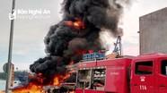 Tàu chụp mực của ngư dân Nghệ An bị thiêu rụi, ước tính thiệt hại hơn 10 tỷ đồng