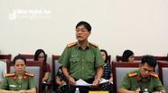 Bộ Công an kiểm tra công tác bảo vệ bí mật nhà nước ở Nghệ An
