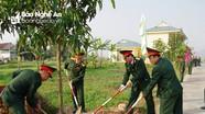 Bộ Chỉ huy Quân sự tỉnh Nghệ An phát động Tết trồng cây