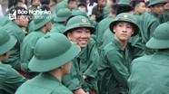 Náo nức ngày tòng quân ở Nghệ An