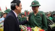 Hôm nay, gần 3.400 thanh niên Nghệ An lên đường nhập ngũ