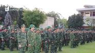 Bộ CHQS tỉnh Nghệ An hoàn thành luyện tập chuyển trạng thái sẵn sàng chiến đấu