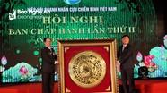 Hiệp hội Doanh nhân cựu chiến binh tặng 32 căn nhà tình nghĩa ở Nghệ An