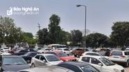Quy hoạch 'treo' bãi đỗ xe công cộng ở thành phố Vinh