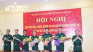 Bộ đội Biên phòng Nghệ An có Phó chỉ huy trưởng mới