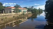 Công an Nghệ An điều tra nghi vấn doanh nghiệp lợi dụng trời mưa xả thải xuống sông Đào