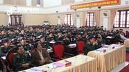 Bộ Chỉ huy Quân sự tỉnh Nghệ An tổ chức Hội nghị Quân chính 2019