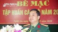 Bộ CHQS Nghệ An duy trì nghiêm chế độ trực, sẵn sàng chiến đấu cao