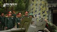 Bộ Chỉ huy quân sự tỉnh kiểm tra công tác huấn luyện ở đảo Mắt và đảo Ngư