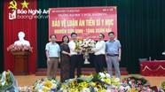 Bệnh viện Sản Nhi Nghệ An có tân giám đốc
