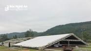 Rạp cưới của Công Phượng dựng ở sân bóng quê nhà