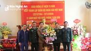 Lữ đoàn xe tăng 215 gặp mặt nhân kỷ niệm Ngày thành lập Quân đội nhân dân Việt Nam
