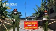 Một thôn ở Nghệ An vừa được dừng cách ly xã hội ít giờ, lại phải phong tỏa vì ca bệnh về từ TP. HCM