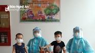 Trung thu sớm ở bệnh viện dã chiến có nhiều trẻ em nhất Nghệ An