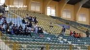 Sân Vinh vắng vẻ trong ngày SLNA đón tiếp Than Quảng Ninh