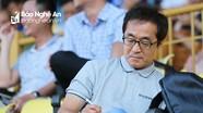"""Trợ lý HLV Park Hang Seo """"vi hành"""" trận SLNA - Nam Định"""
