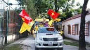 Người hâm mộ quê nhà nồng nhiệt chào đón các nhà vô địch U11 Sông Lam Nghệ An