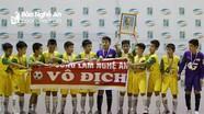 U11 SLNA vô địch Cúp nhi đồng toàn quốc: Chiếc Cúp nhỏ, ý nghĩa lớn