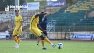 Sân Vinh xanh mướt trước trận SLNA gặp Than Quảng Ninh
