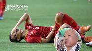 Bố Trọng Hoàng: 'Rơi nước mắt vì con chảy máu rồi vô địch SEA Games'