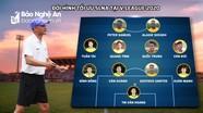 Sông Lam Nghệ An sẽ chơi với sơ đồ 7 cựu tuyển thủ và 3 ngoại binh?